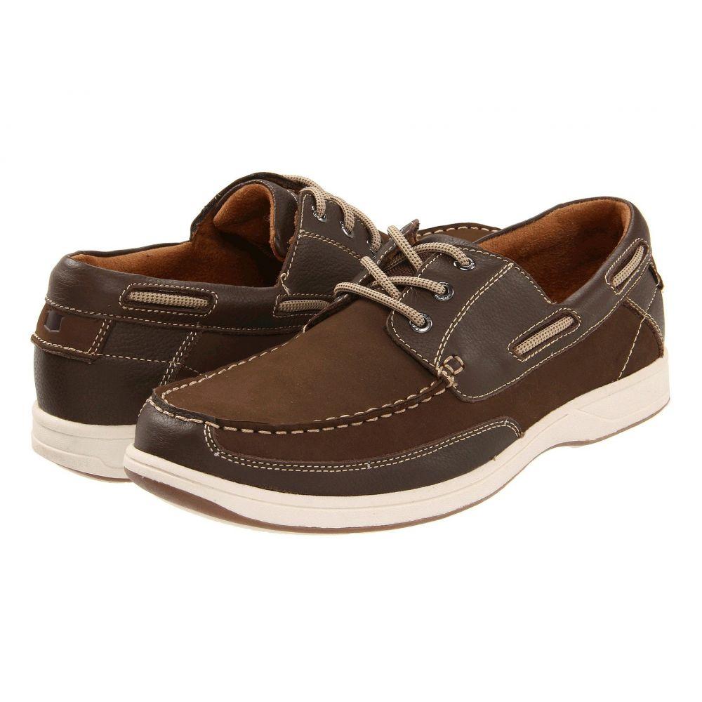 フローシャイム Florsheim メンズ デッキシューズ シューズ・靴【Lakeside Ox】Brown Nubuck