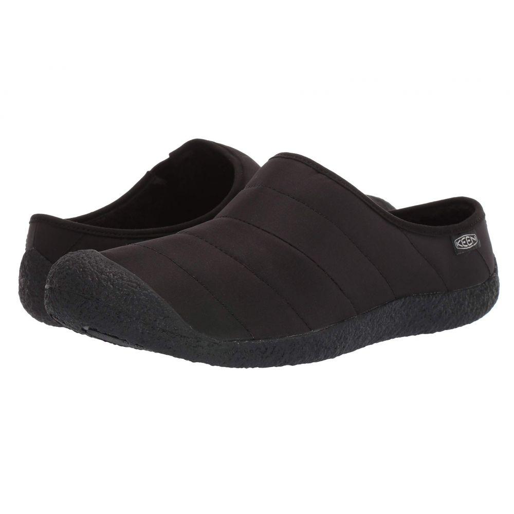 キーン Keen メンズ スリッパ シューズ・靴【Howser Slide】Black/Black