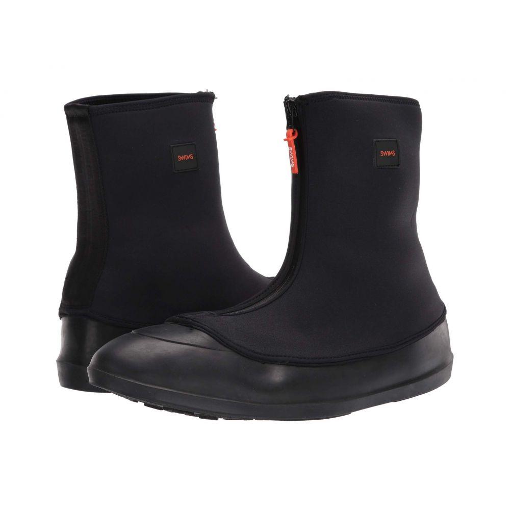 スウィムス 人気 メンズ シューズ 靴 インソール 靴関連用品 Galosh ディスカウント Mobster Black サイズ交換無料 SWIMS