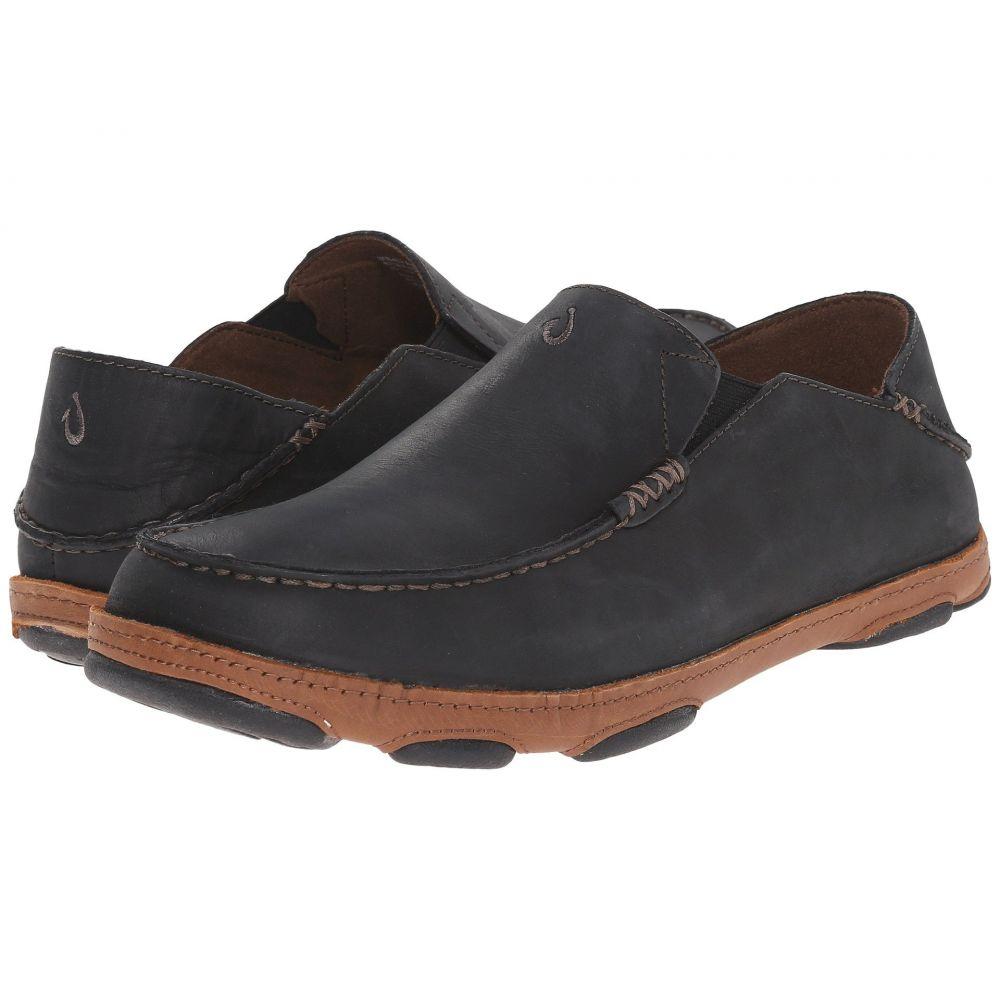 オルカイ OluKai メンズ ローファー シューズ・靴【Moloa】Black