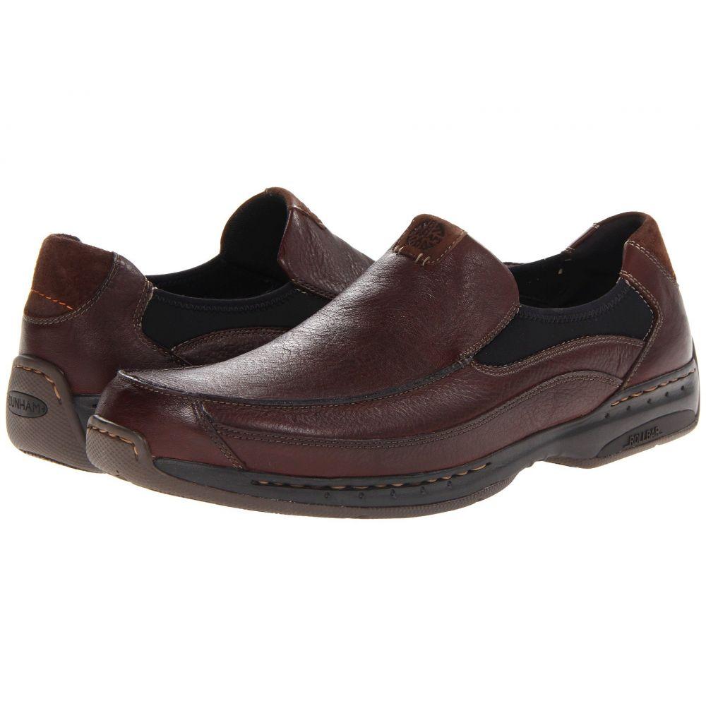 ダナム Dunham メンズ スリッポン・フラット シューズ・靴【Wade Slip On】Brown