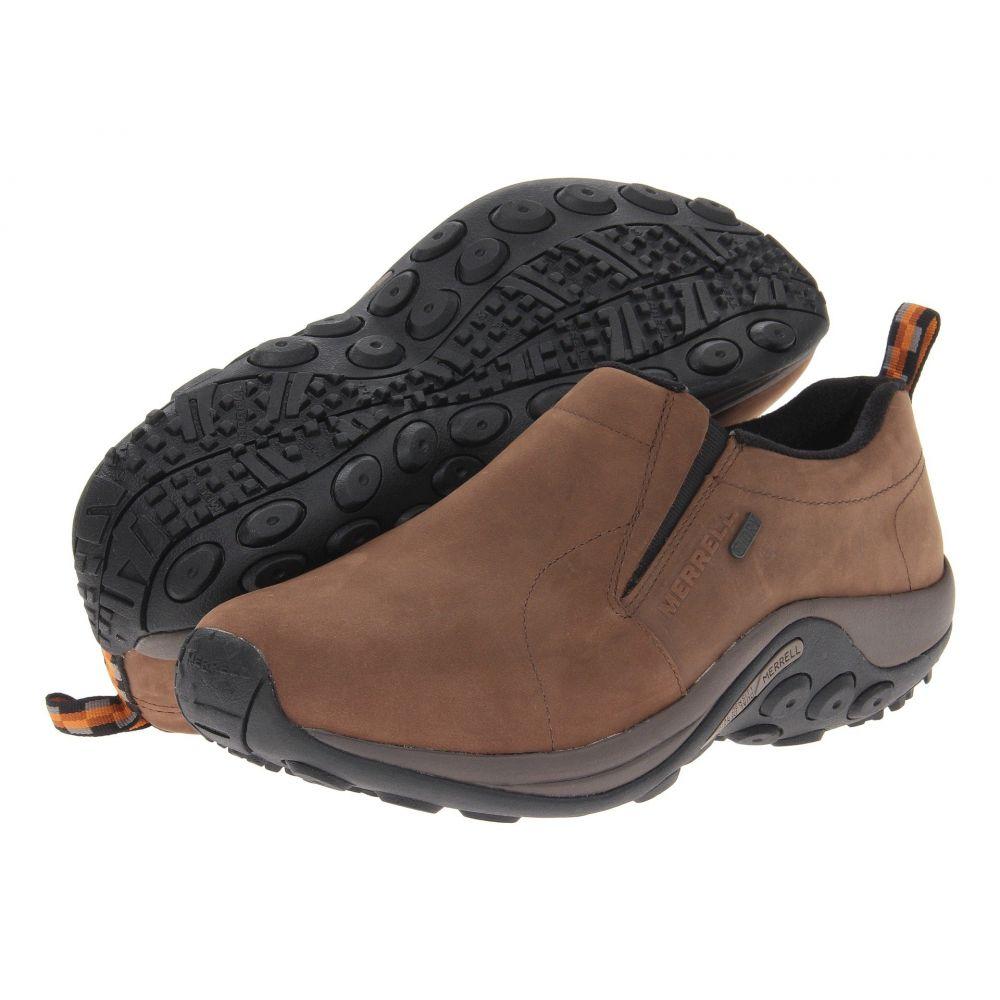 メレル Merrell メンズ ローファー シューズ・靴【Jungle Moc Nubuck Waterproof】Brown