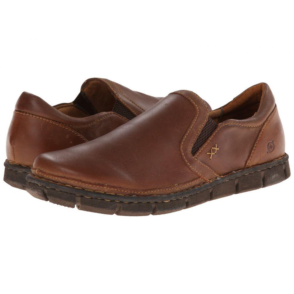 ボーン Born メンズ ローファー シューズ・靴【Sawyer】Tan Full Grain Leather