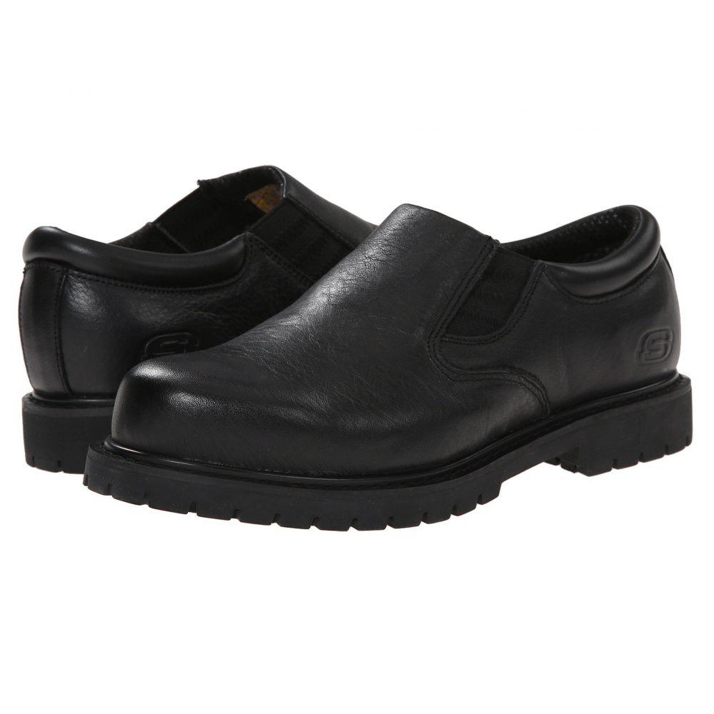 スケッチャーズ SKECHERS Work メンズ ローファー シューズ・靴【Cottonwood Goddard】Black