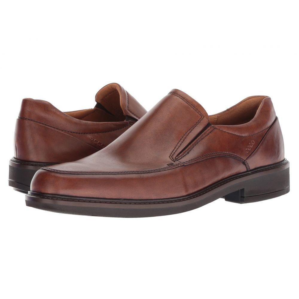 エコー ECCO メンズ スリッポン・フラット シューズ・靴【Holton Apron Toe Slip-On】Amber