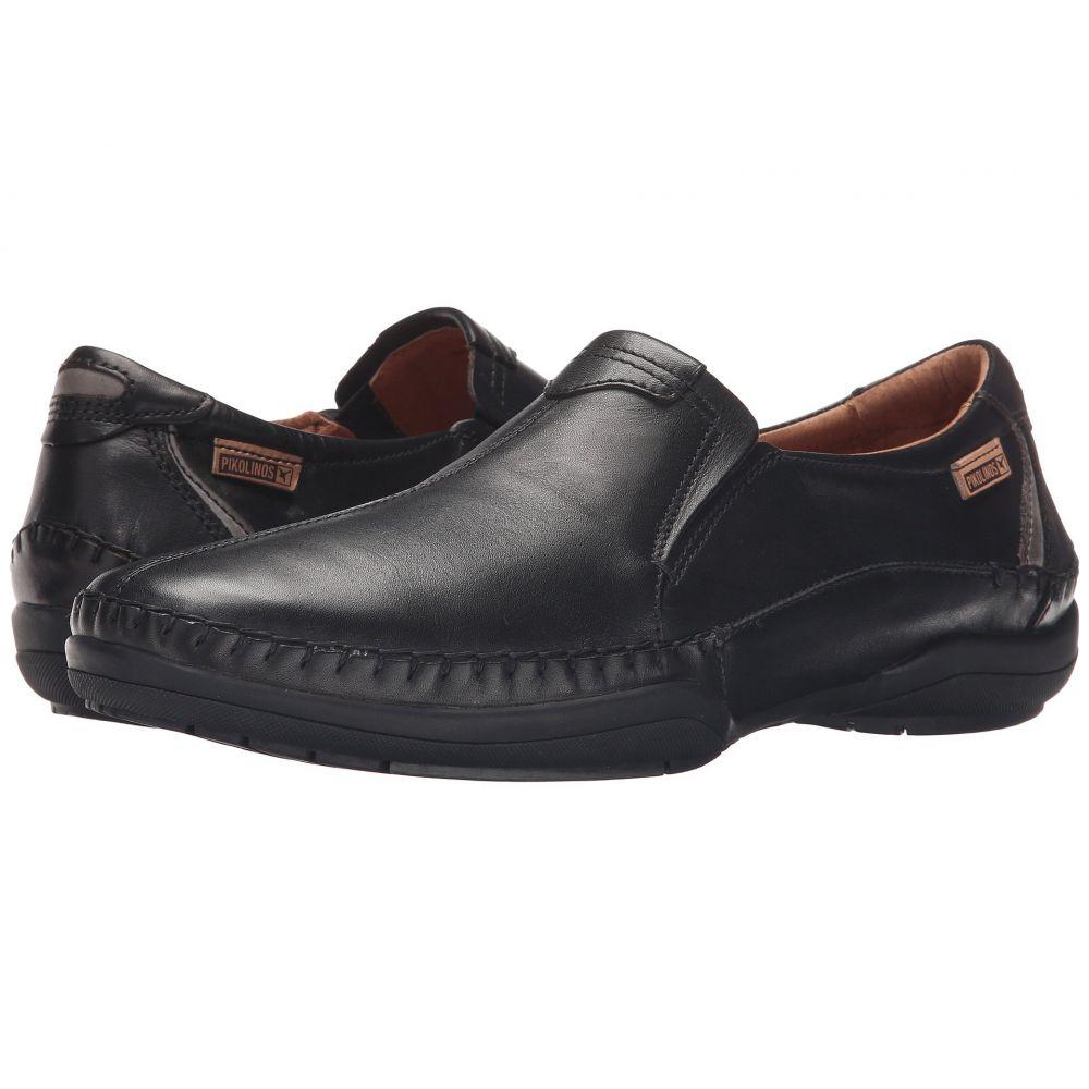 ピコリノス Pikolinos メンズ ローファー シューズ・靴【San Telmo M1D-6032】Black/Dark Grey