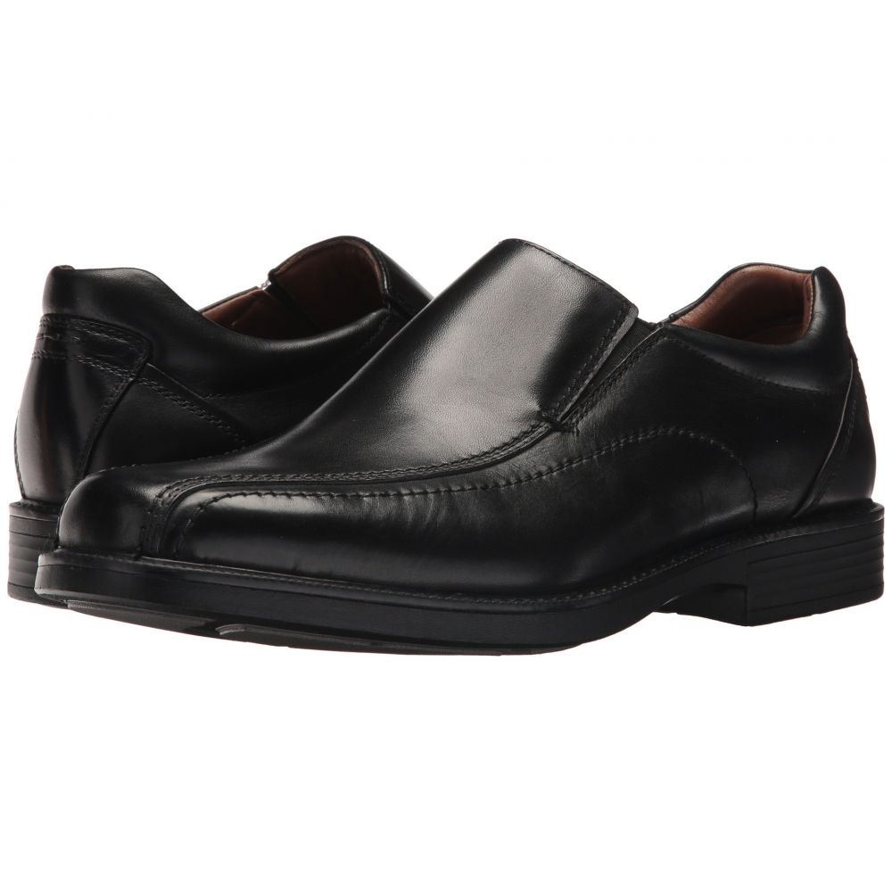 ジョンストン&マーフィー Johnston & Murphy メンズ スリッポン・フラット シューズ・靴【Waterproof XC 4Stanton Panel Toe Slip-On】Black Waterproof Full Grain