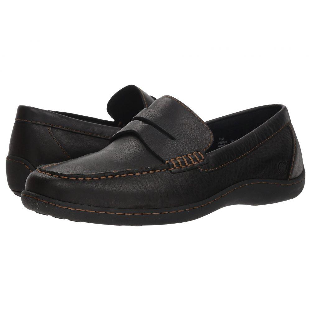 ボーン Born メンズ ローファー シューズ・靴【Simon II】Black Full Grain Leather