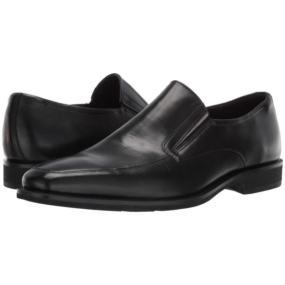エコー ECCO メンズ スリッポン・フラット シューズ・靴【Calcan Apron Toe Slip-On】Black