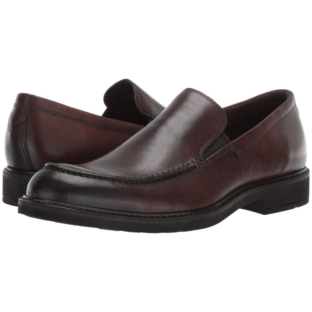 エコー ECCO メンズ スリッポン・フラット シューズ・靴【Vitrus III Moc Slip-On】Cocoa Brown
