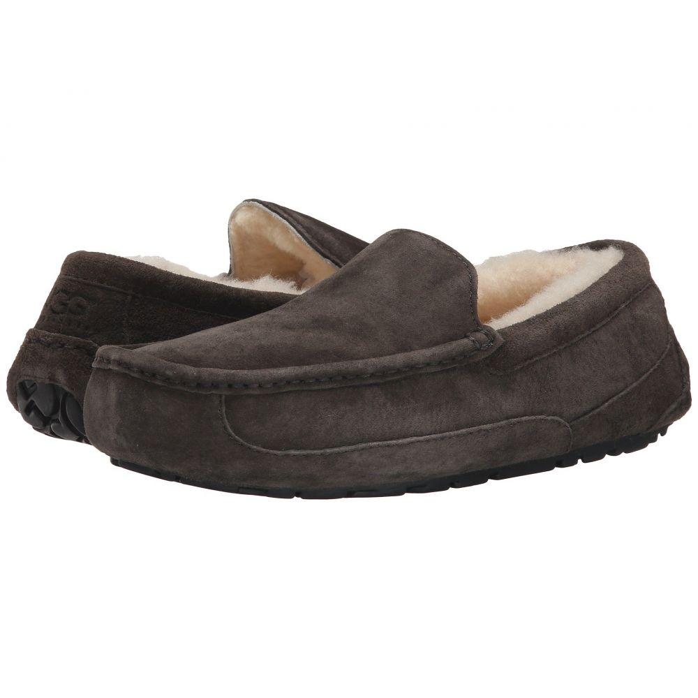 アグ UGG メンズ スリッパ シューズ・靴【Ascot - WIDE】Charcoal