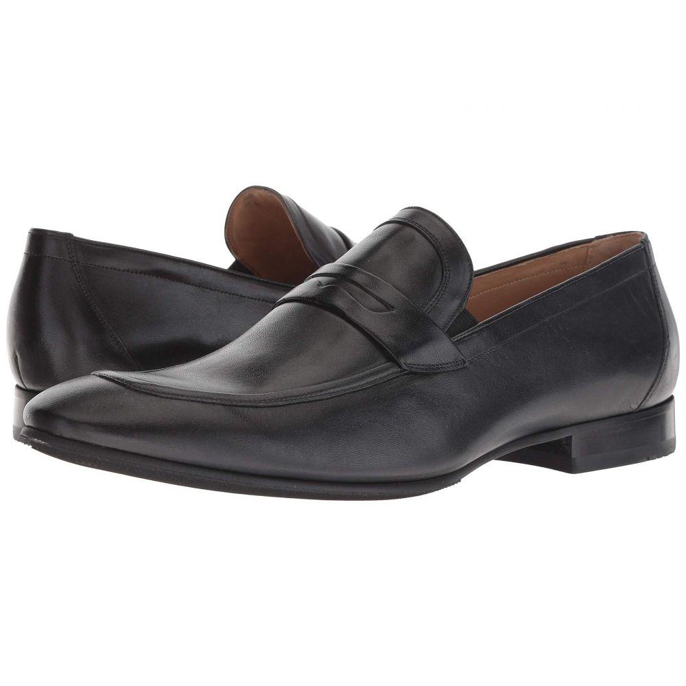 マッテオ マッシモ Massimo Matteo メンズ ローファー シューズ・靴【New Penny Classic】Black