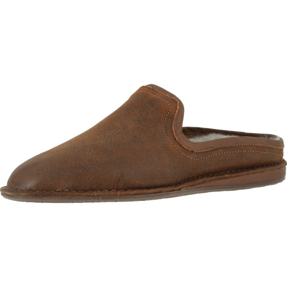 Brown 45 size: 40 44 42 41 Slip On 46 Men`s Suede Slippers 47 43