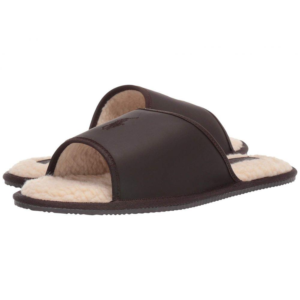 ラルフ ローレン Polo Ralph Lauren メンズ スリッパ シューズ・靴【Antero】Brown Leather