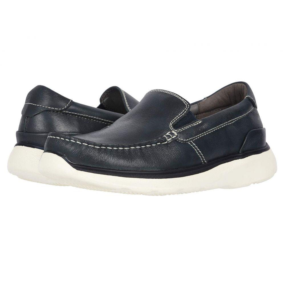 プロペット Propet メンズ ローファー シューズ・靴【Otis】Navy Full Grain Leather