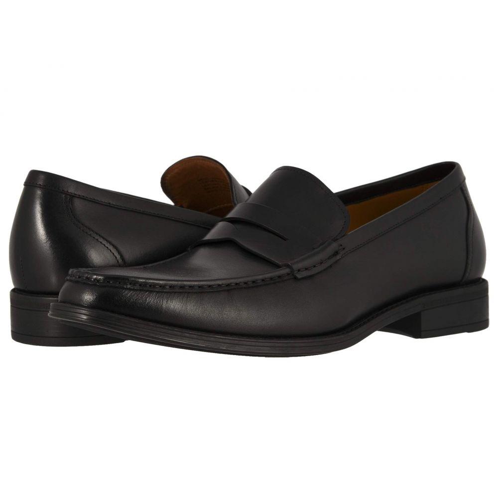フローシャイム Florsheim メンズ ローファー シューズ・靴【Amelio Penny Loafer】Black Smooth