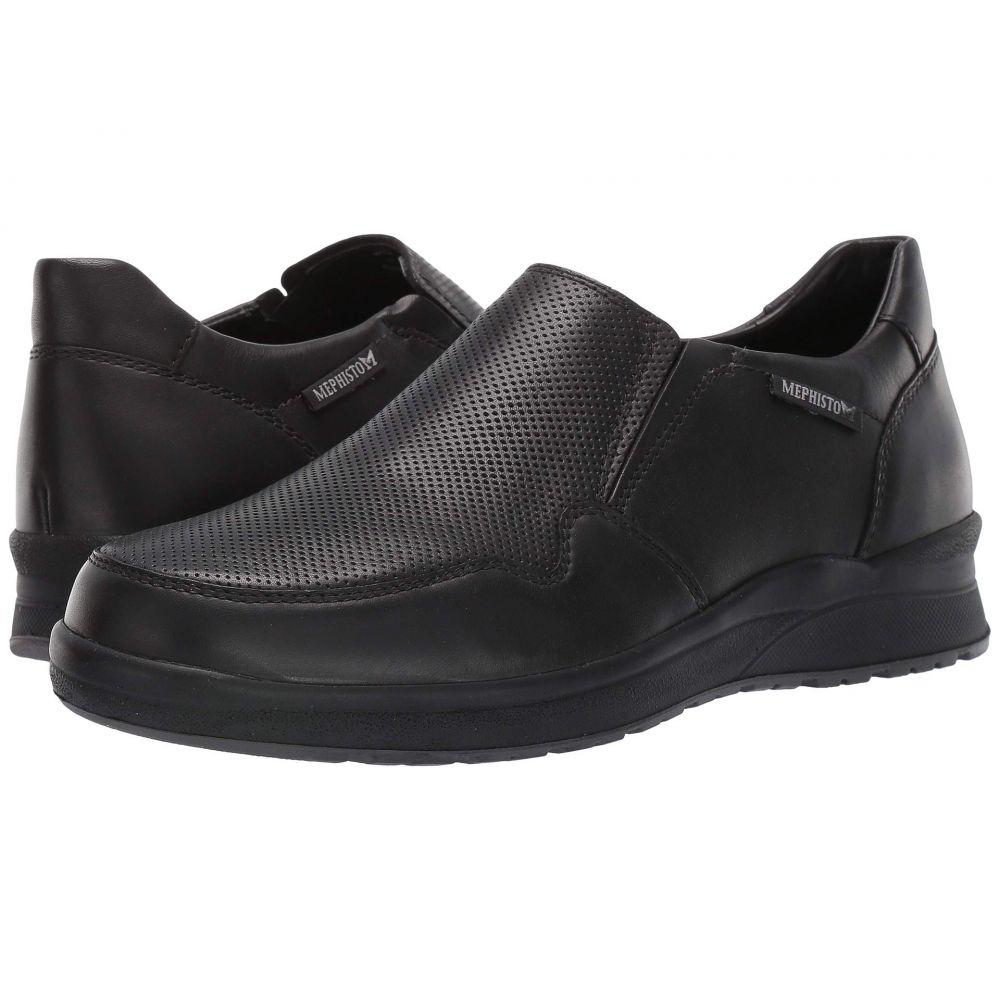 メフィスト Mephisto メンズ ローファー シューズ・靴【Valter】Black Randy
