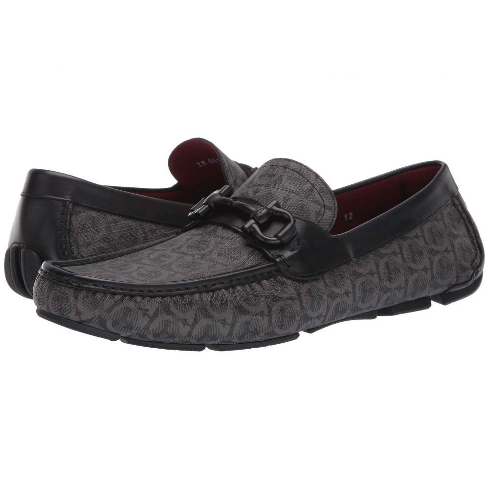 サルヴァトーレ フェラガモ Salvatore Ferragamo メンズ ローファー シューズ・靴【Parigi 19 Loafer】Grey/Black