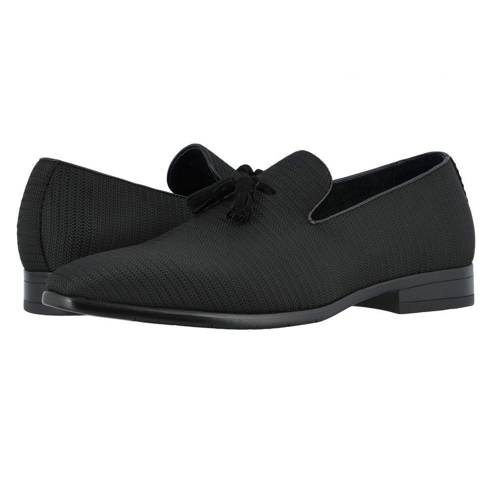 ステイシー アダムス Stacy Adams メンズ スリッポン・フラット シューズ・靴【Tazewell Plain Toe Slip-On】Black