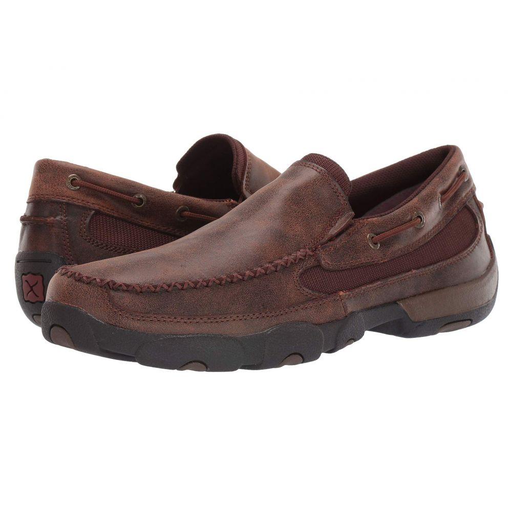 ツイステッドエックス Twisted X メンズ ローファー シューズ・靴【MDMS009】Brown