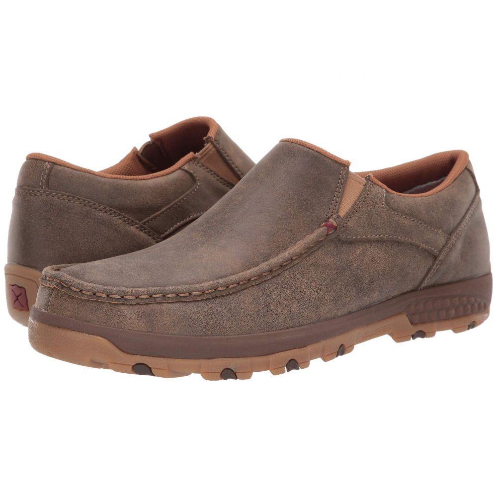 ツイステッドエックス Twisted X メンズ ローファー シューズ・靴【MXC0003】Brown