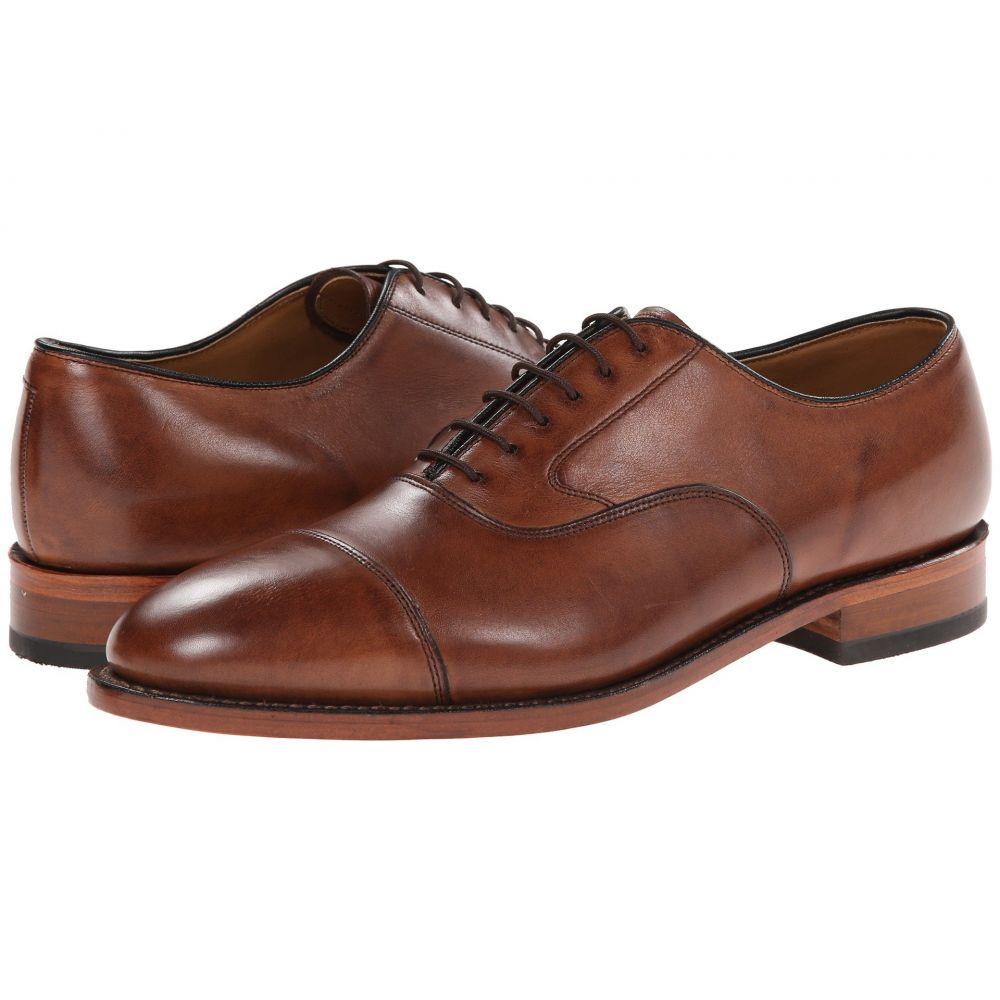 ジョンストンマーフィー メンズ 大幅にプライスダウン シューズ 靴 革靴 メーカー直売 ビジネスシューズ Tan Italian Calfskin Oxford Classic Johnston Melton Toe サイズ交換無料 Dress Cap Murphy