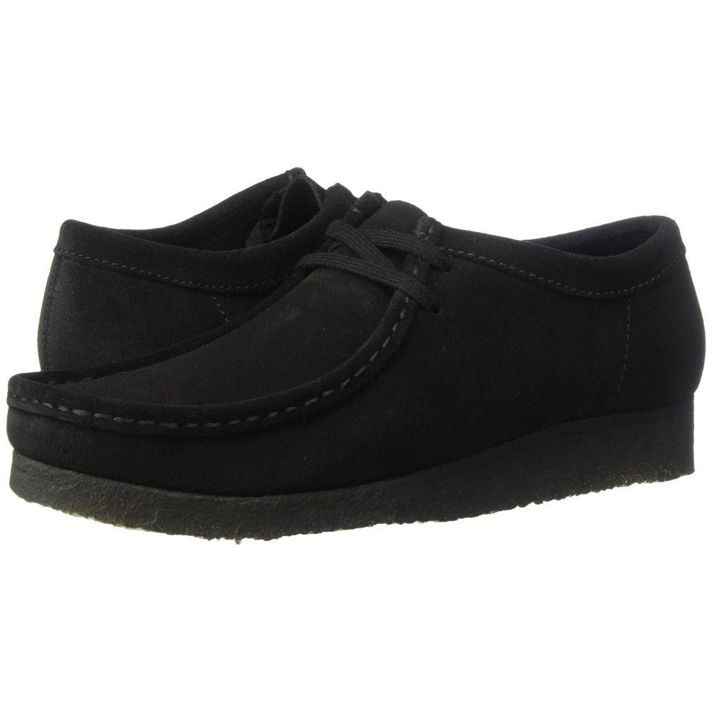 クラークス Clarks メンズ 革靴・ビジネスシューズ シューズ・靴【Wallabee】Black Suede