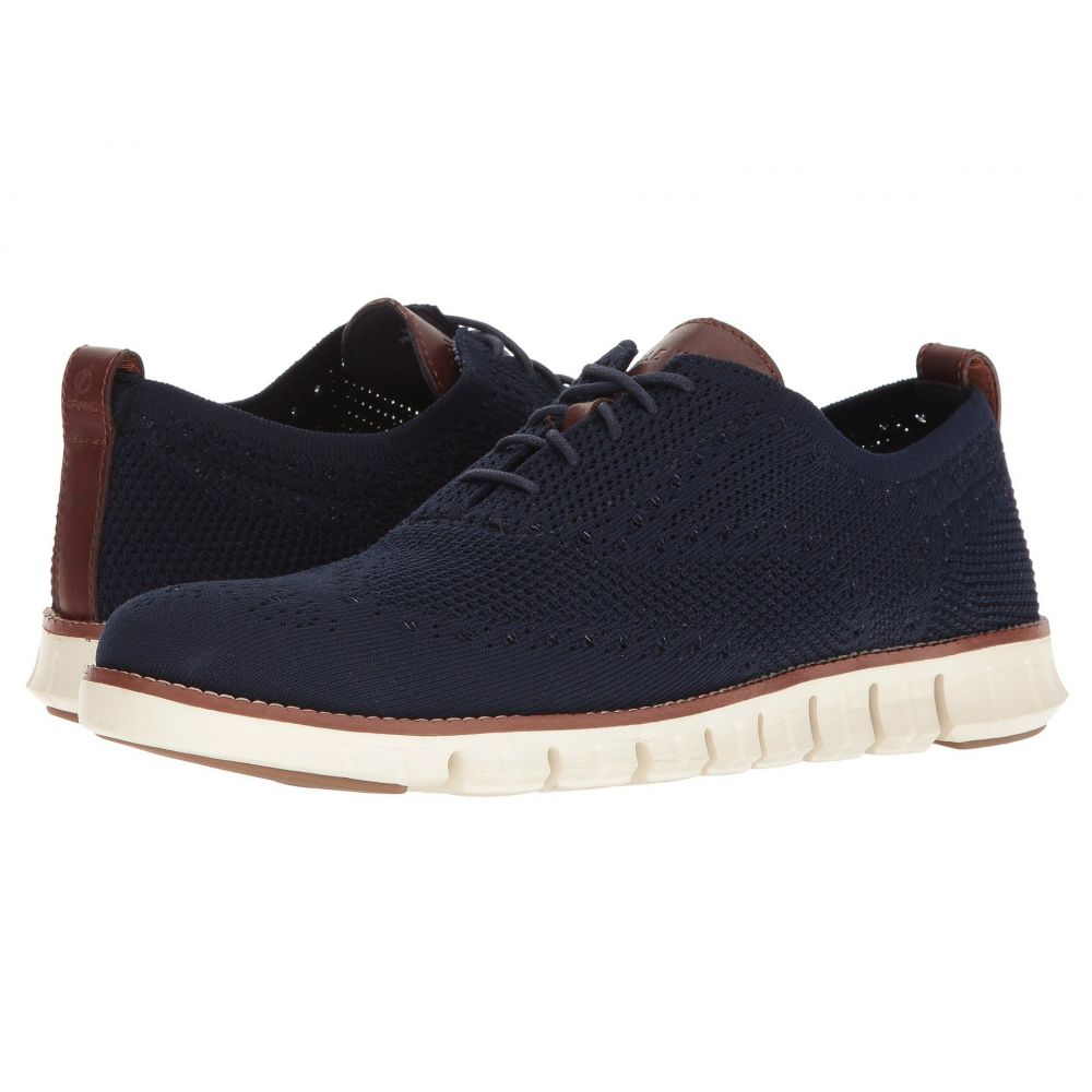 コールハーン Cole Haan メンズ 革靴・ビジネスシューズ シューズ・靴【Zerogrand Stitchlite Oxford】Marine Blue/Ivory