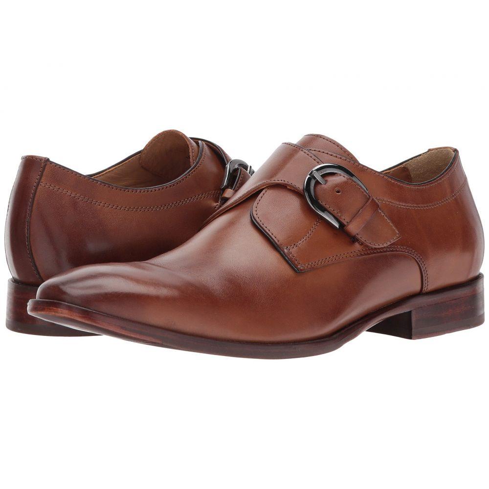 ジョンストン&マーフィー Johnston & Murphy メンズ 革靴・ビジネスシューズ モンクストラップ シューズ・靴【McClain Dress Monk Strap】Tan Full Grain