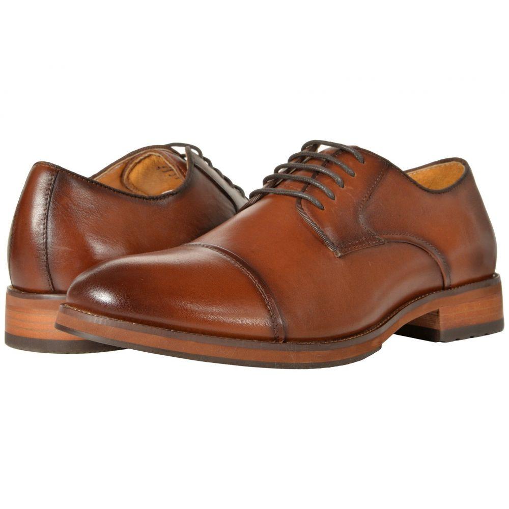 フローシャイム Florsheim メンズ 革靴・ビジネスシューズ シューズ・靴【Blaze Cap Toe Oxford】Cognac Smooth