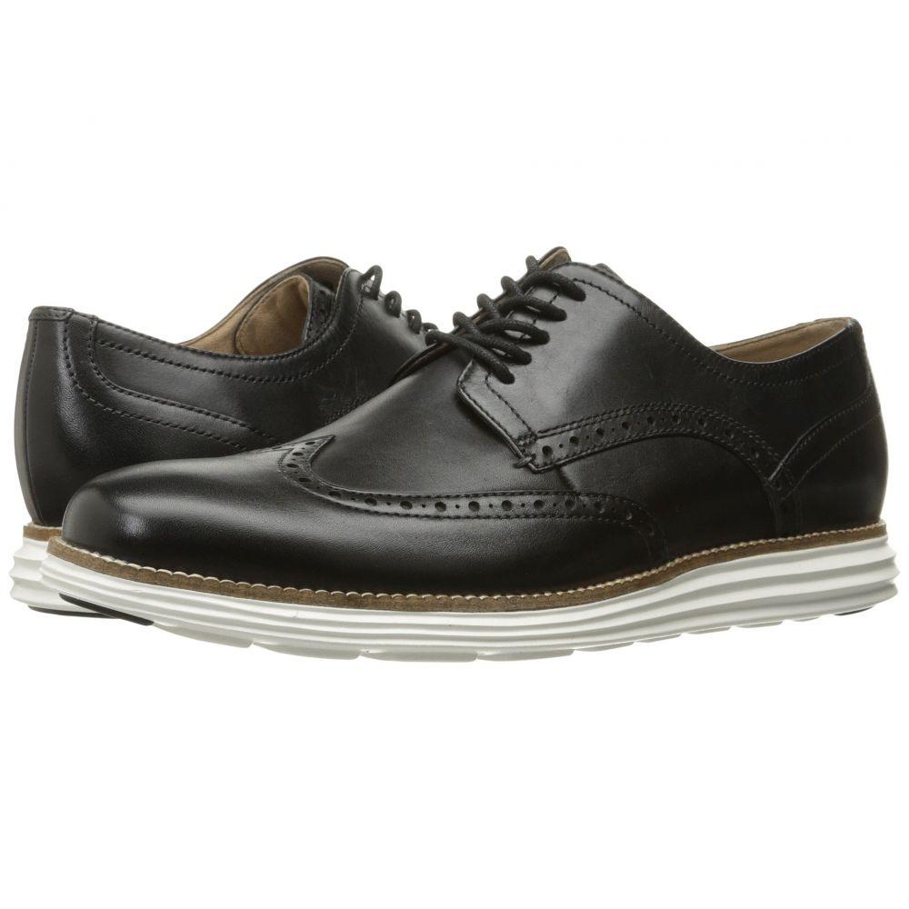 コールハーン Cole Haan メンズ 革靴・ビジネスシューズ シューズ・靴【Original Grand Shortwing】Black Leather/White
