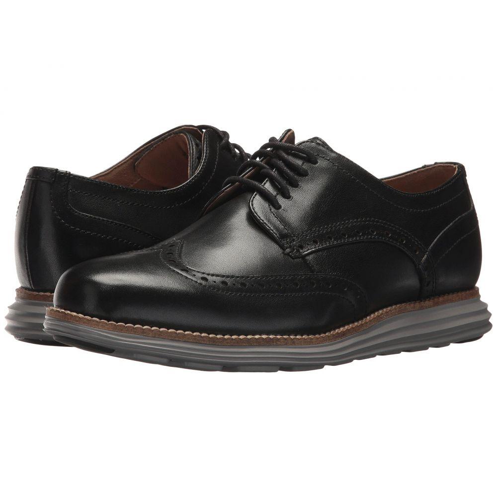 コールハーン Cole Haan メンズ 革靴・ビジネスシューズ シューズ・靴【Original Grand Shortwing】Black Leather/Ironstone
