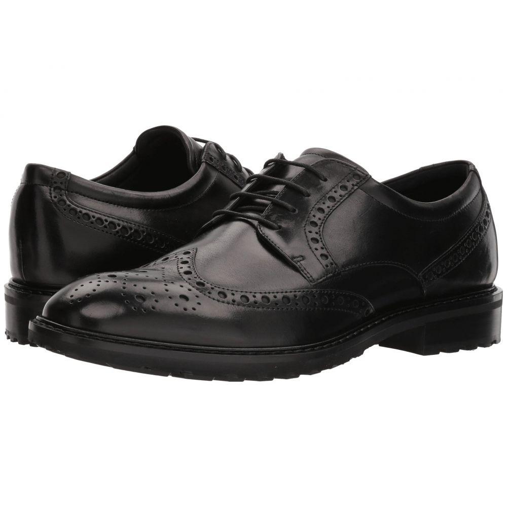 エコー ECCO メンズ 革靴・ビジネスシューズ ウイングチップ シューズ・靴【Vitrus I Wingtip Tie】Black