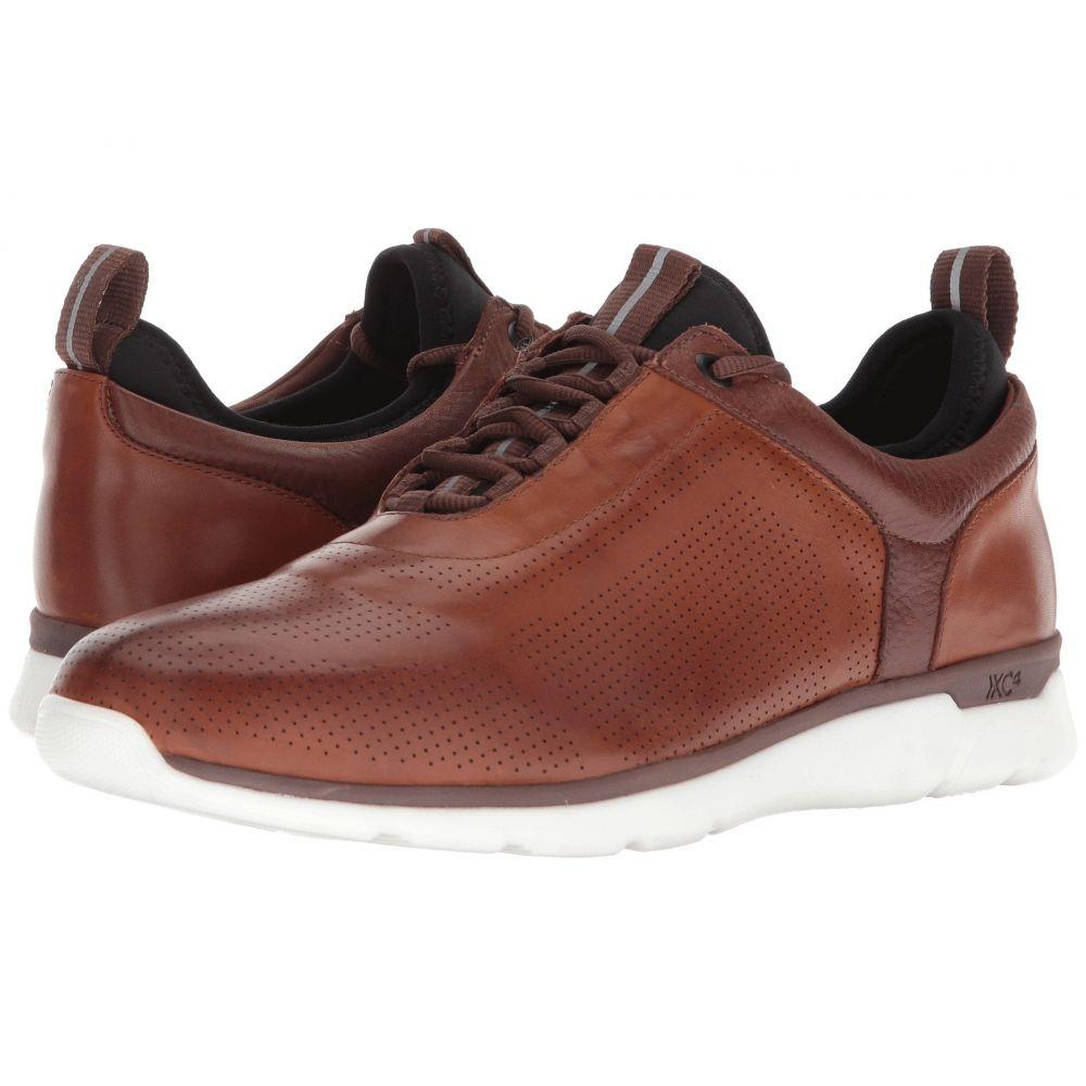 ジョンストン&マーフィー Johnston & Murphy メンズ 革靴・ビジネスシューズ シューズ・靴【Prentiss XC4 U-Throat Casual Dress Sneaker】Mahogany Waterproof Full Grain