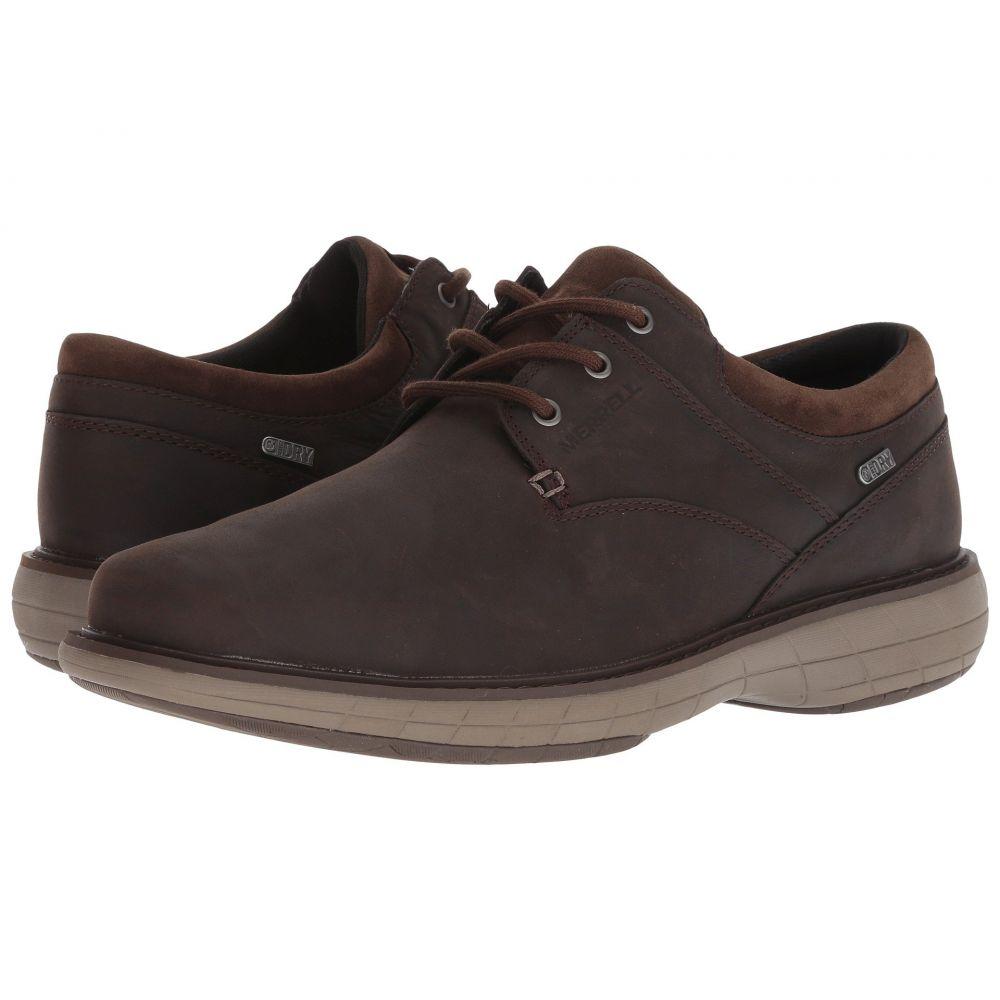 メレル Merrell メンズ 革靴・ビジネスシューズ シューズ・靴【World Vue Lace Waterproof】Black Slate