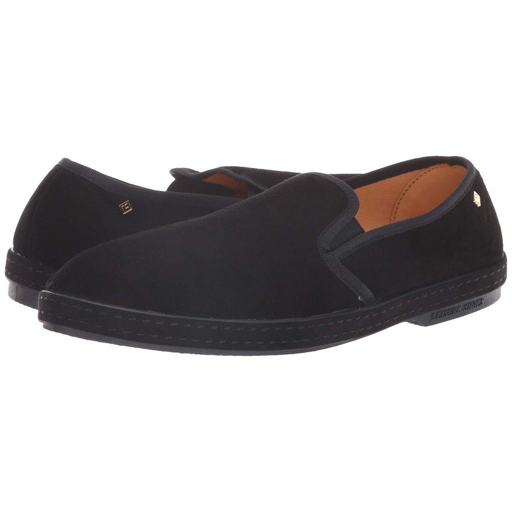 リビエラ Rivieras メンズ スリッポン・フラット シューズ・靴【Sultan 30 Slip-On】Black