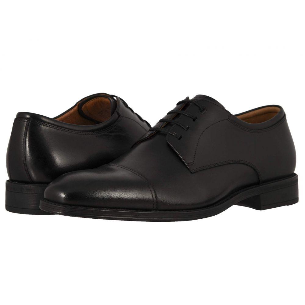 フローシャイム Florsheim メンズ 革靴・ビジネスシューズ シューズ・靴【Amelio Cap Toe Oxford】Black Smooth