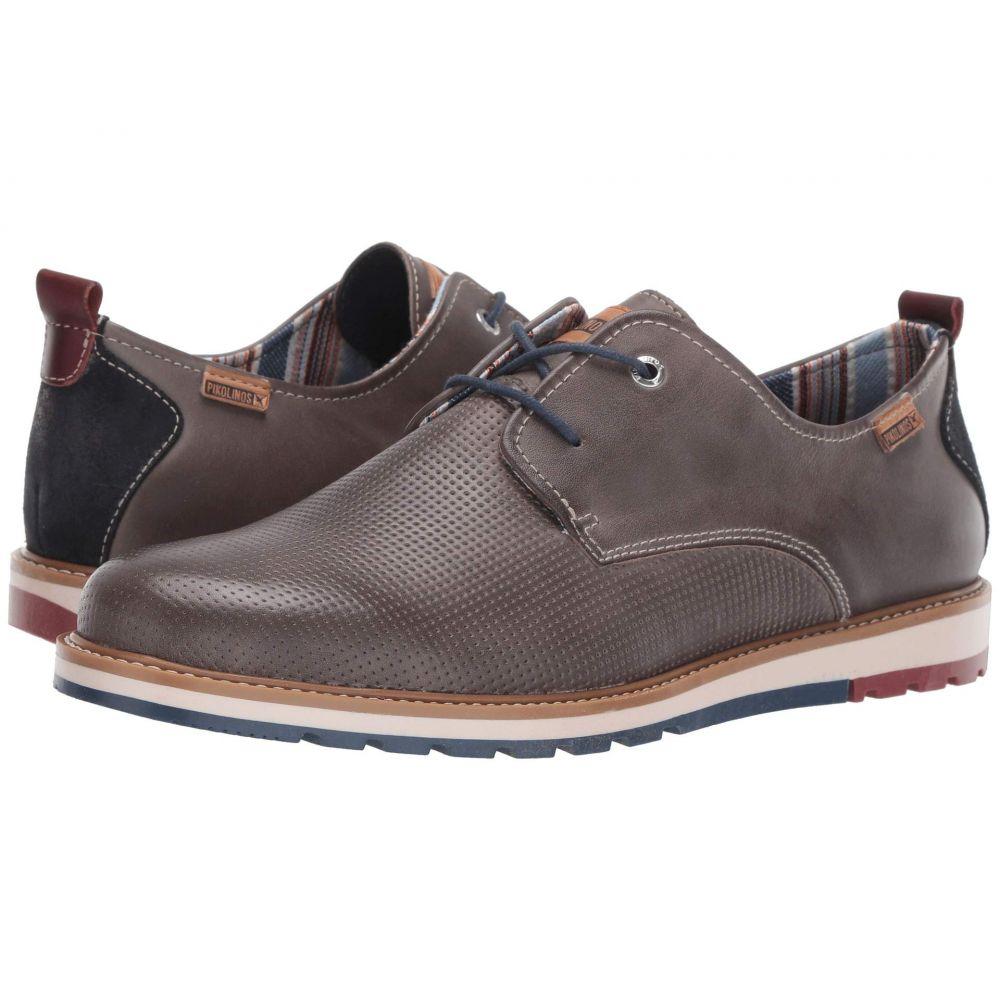 ピコリノス Pikolinos メンズ 革靴・ビジネスシューズ シューズ・靴【Berna M8J-4273】Dark Grey