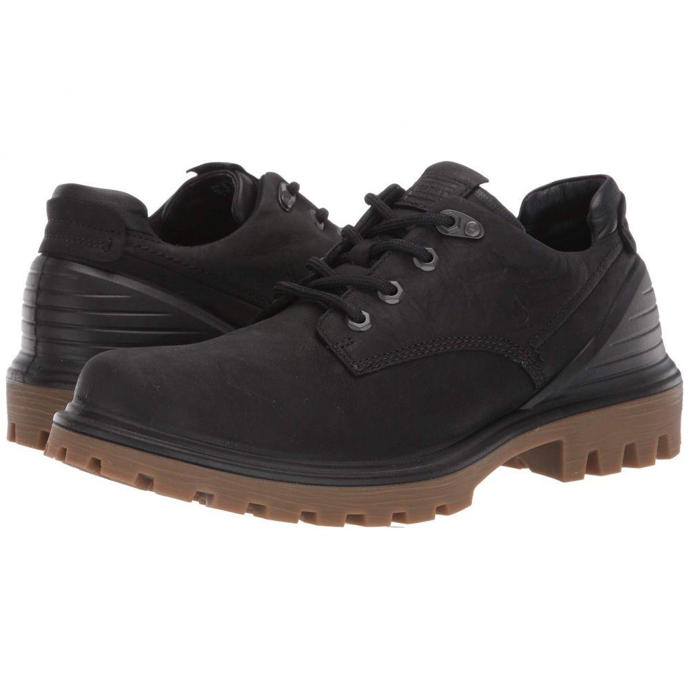 エコー ECCO メンズ 革靴・ビジネスシューズ シューズ・靴【Tred Tray Waterproof Low Hydromax】Black/Black