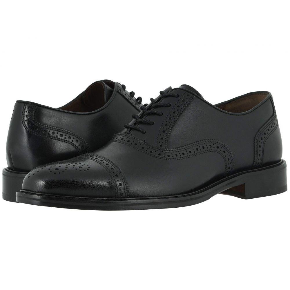 ジョンストン&マーフィー Johnston & Murphy メンズ 革靴・ビジネスシューズ シューズ・靴【Daley Cap Toe】Black Full Grain