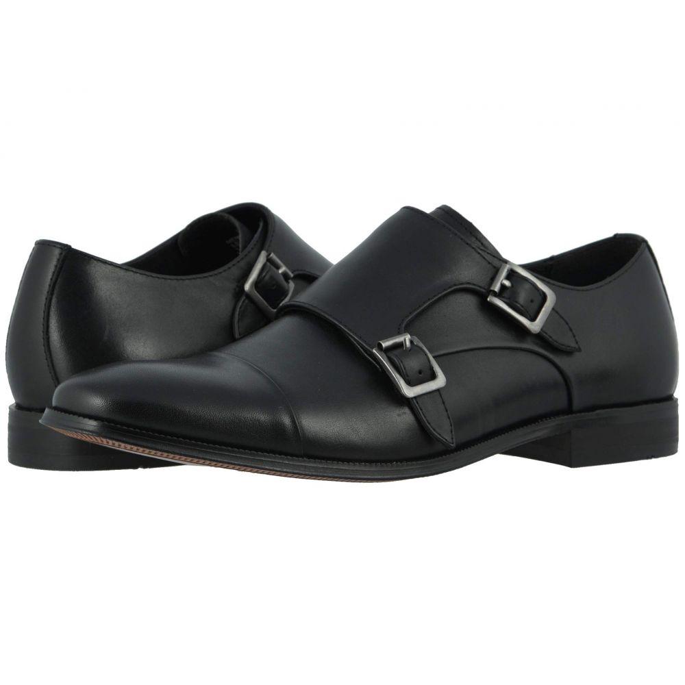 フローシャイム Florsheim メンズ 革靴・ビジネスシューズ シューズ・靴【Jetson Cap Toe Double Monk Strap】Black Smooth