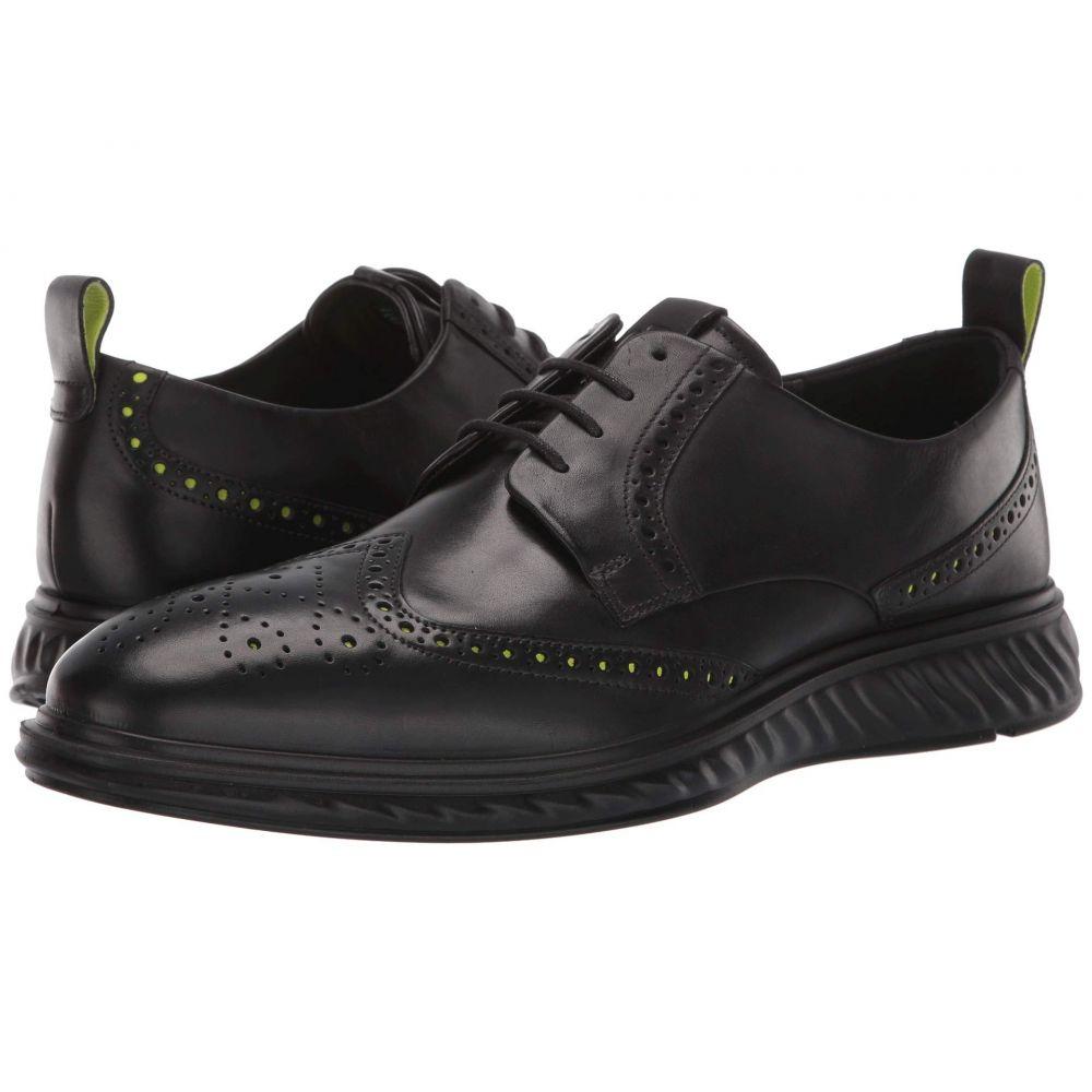 エコー ECCO メンズ 革靴・ビジネスシューズ メダリオン シューズ・靴【ST.1 Hybrid Lite Brogue】Black