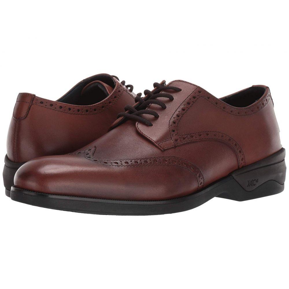 ジョンストン&マーフィー Johnston & Murphy メンズ 革靴・ビジネスシューズ ウイングチップ シューズ・靴【Waterproof XC4 Elkins Casual Wing Tip Oxford】Tan Leather