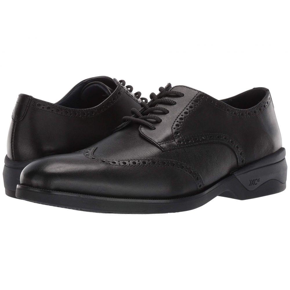 ジョンストン&マーフィー Johnston & Murphy メンズ 革靴・ビジネスシューズ ウイングチップ シューズ・靴【Waterproof XC4 Elkins Casual Wing Tip Oxford】Black Leather