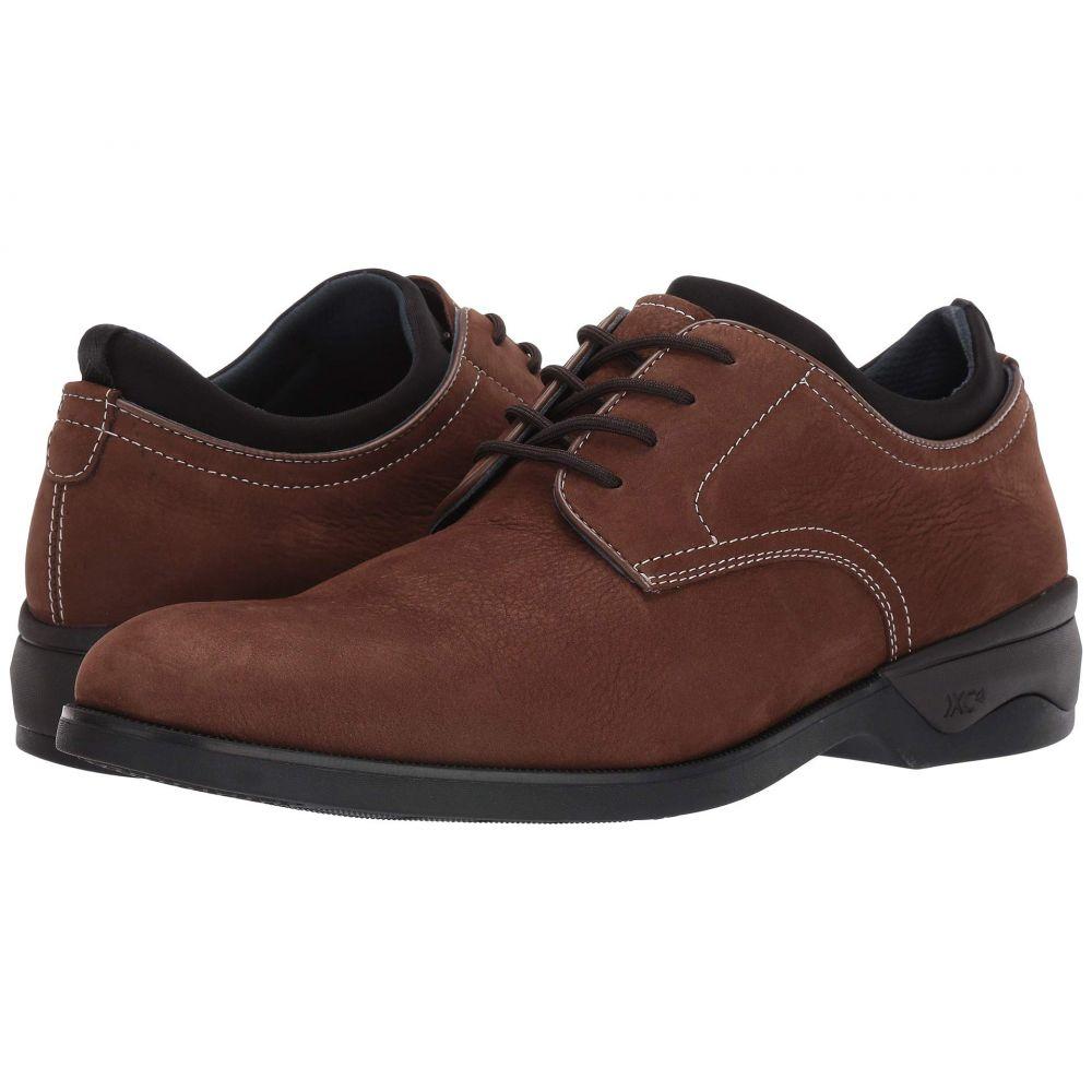 ジョンストン&マーフィー Johnston & Murphy メンズ 革靴・ビジネスシューズ シューズ・靴【Waterproof XC4 Elkins Casual Plain Toe Oxford】Brown Tumbled Nubuck
