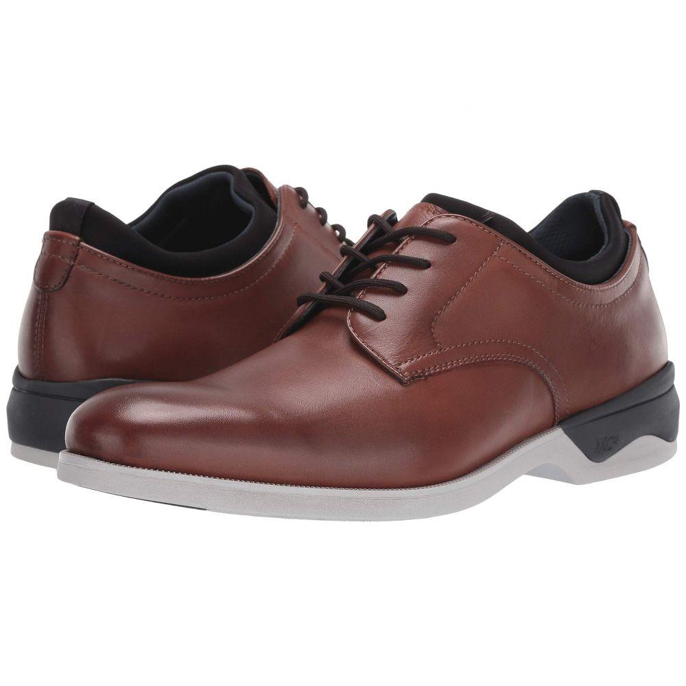ジョンストン&マーフィー Johnston & Murphy メンズ 革靴・ビジネスシューズ シューズ・靴【Waterproof XC4 Elkins Casual Plain Toe Oxford】Tan Full Grain
