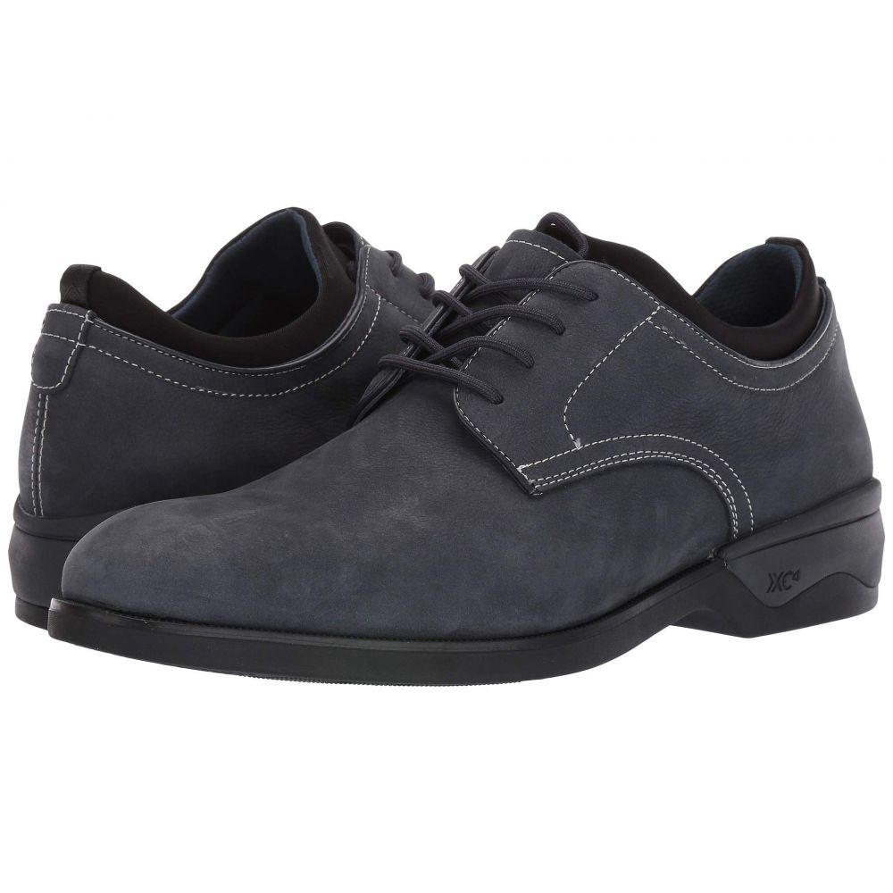 ジョンストン&マーフィー Johnston & Murphy メンズ 革靴・ビジネスシューズ シューズ・靴【Waterproof XC4 Elkins Casual Plain Toe Oxford】Navy