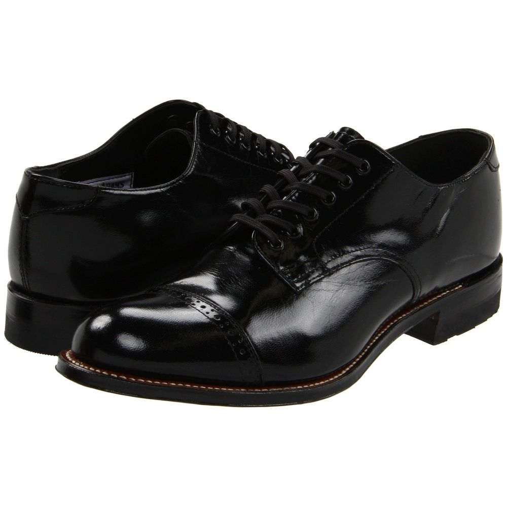 ステイシー アダムス Stacy Adams メンズ 革靴・ビジネスシューズ シューズ・靴【Madison (Cap Toe)】Black