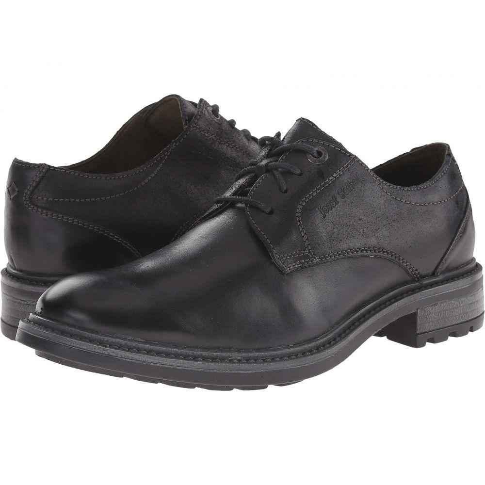 ジョセフセイベル 05】Black シューズ・靴【Oscar メンズ Seibel Oregon/Kombi 革靴・ビジネスシューズ Josef