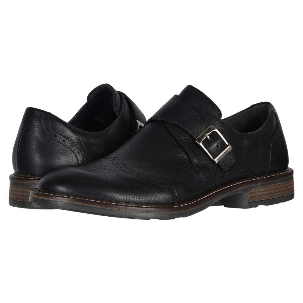 ナオト Naot メンズ 革靴・ビジネスシューズ シューズ・靴【Evidence】Soft Black Leather